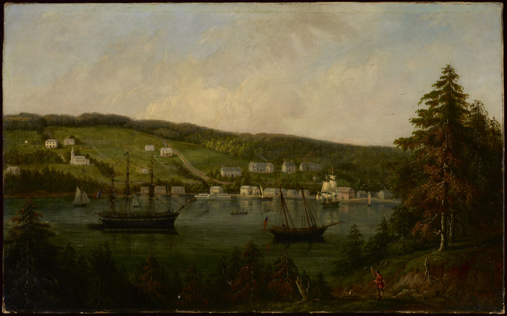 Gaspé, Québec, vers 1871