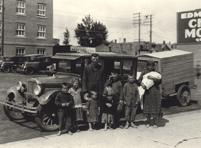 Famille, Crise des années 30