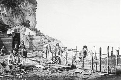 Montagnais Aboriginal people.
