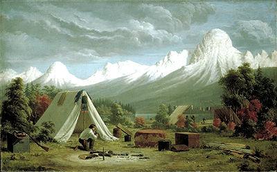 \u00ab Boat Encampment \u00bb (peinture)