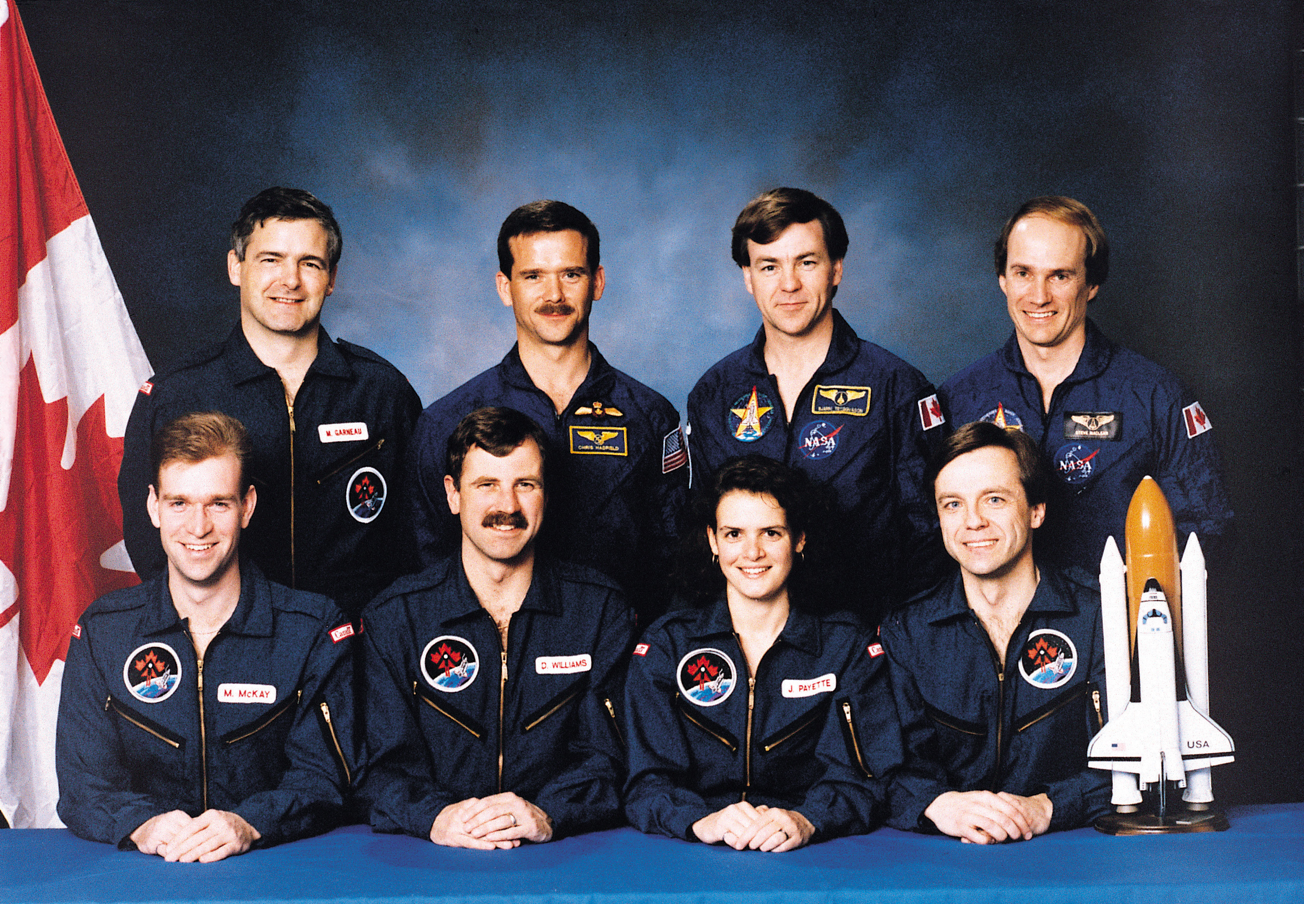 Canadian astronaut team, 1992
