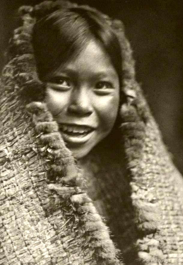 Tla-o-qui-aht (Clayoquot) girl