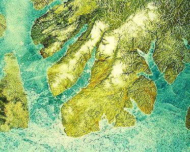 Melville Island, Satellite Image