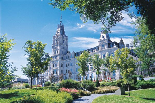 Québec Parliament.