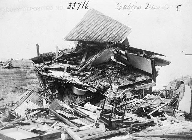 Halifax Explosion-aftermath