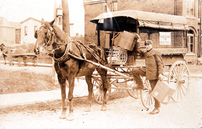 Eaton's Delivery Truck
