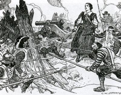 La guerre civile en Acadie