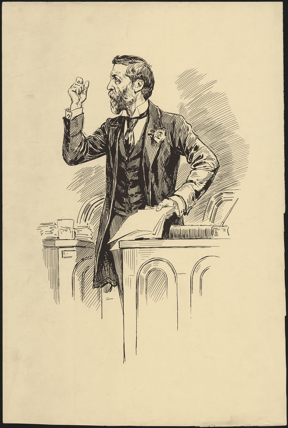 Portrait of Joseph Israel Tarte