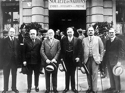 Sociétédes Nations, réunion de la