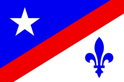 Drapeau Franco-Américain