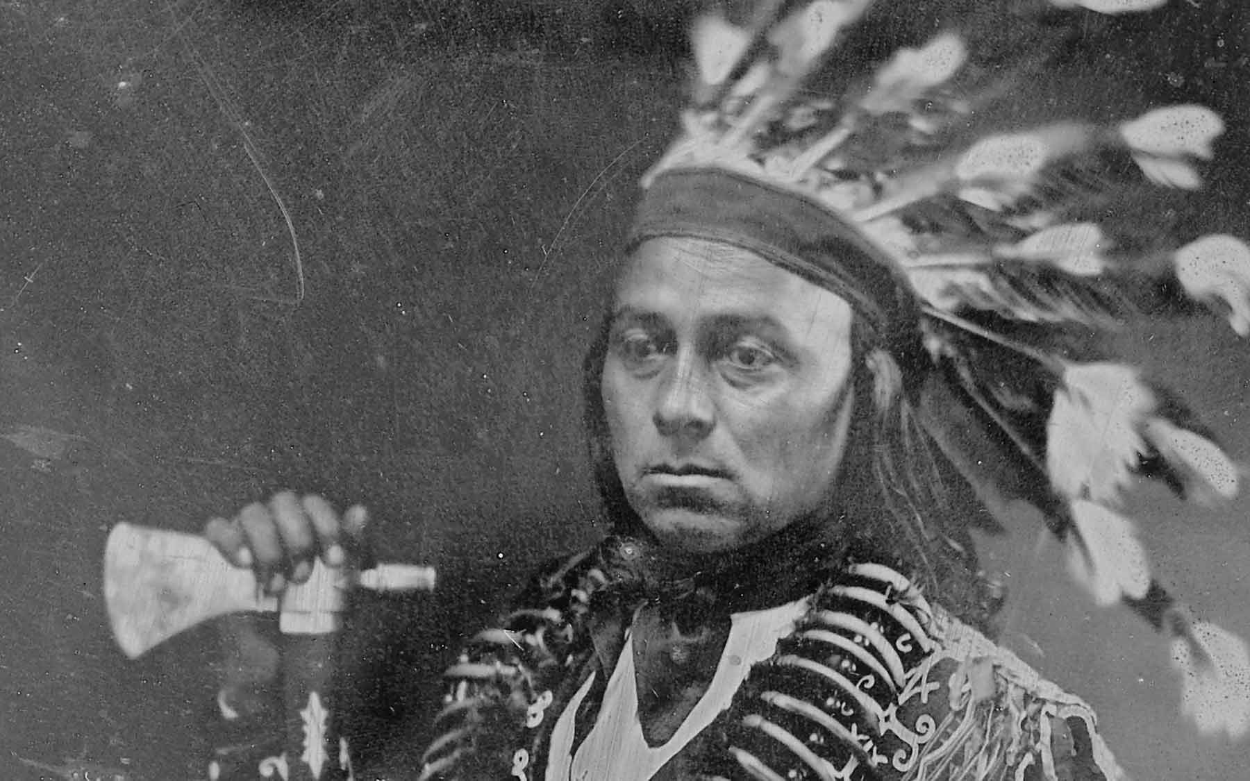 Maungwudaus (or George Henry) Chief of the Mississauga First Nation, 1846.