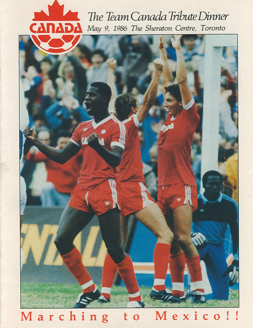 Team Canada Goes to the 1986 World Cup