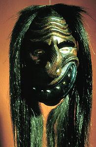 False Face Society Mask