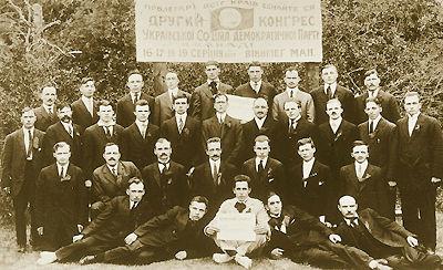 Ukrainien, Parti social-démocrate