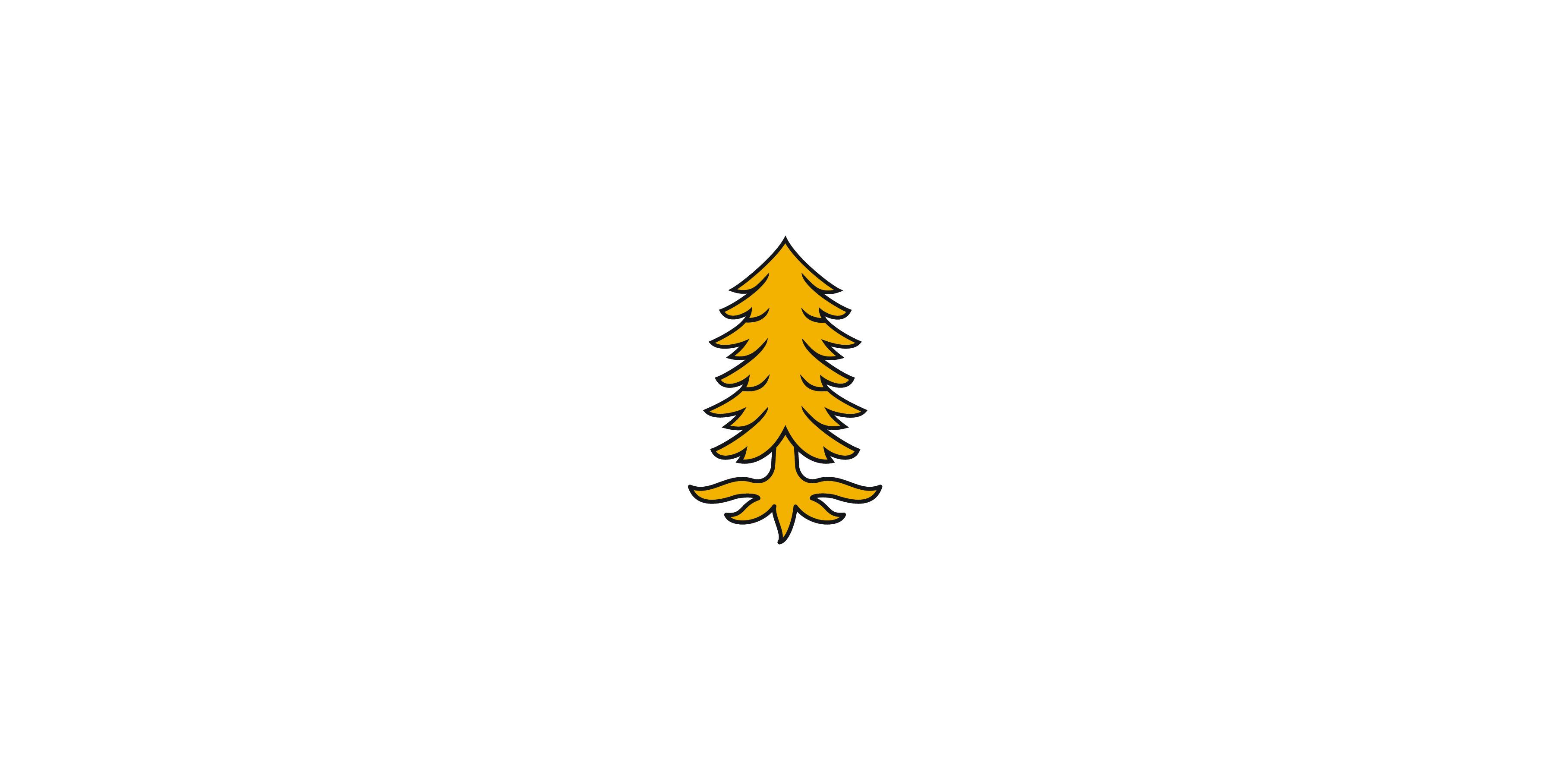 L'emblème du pin blanc