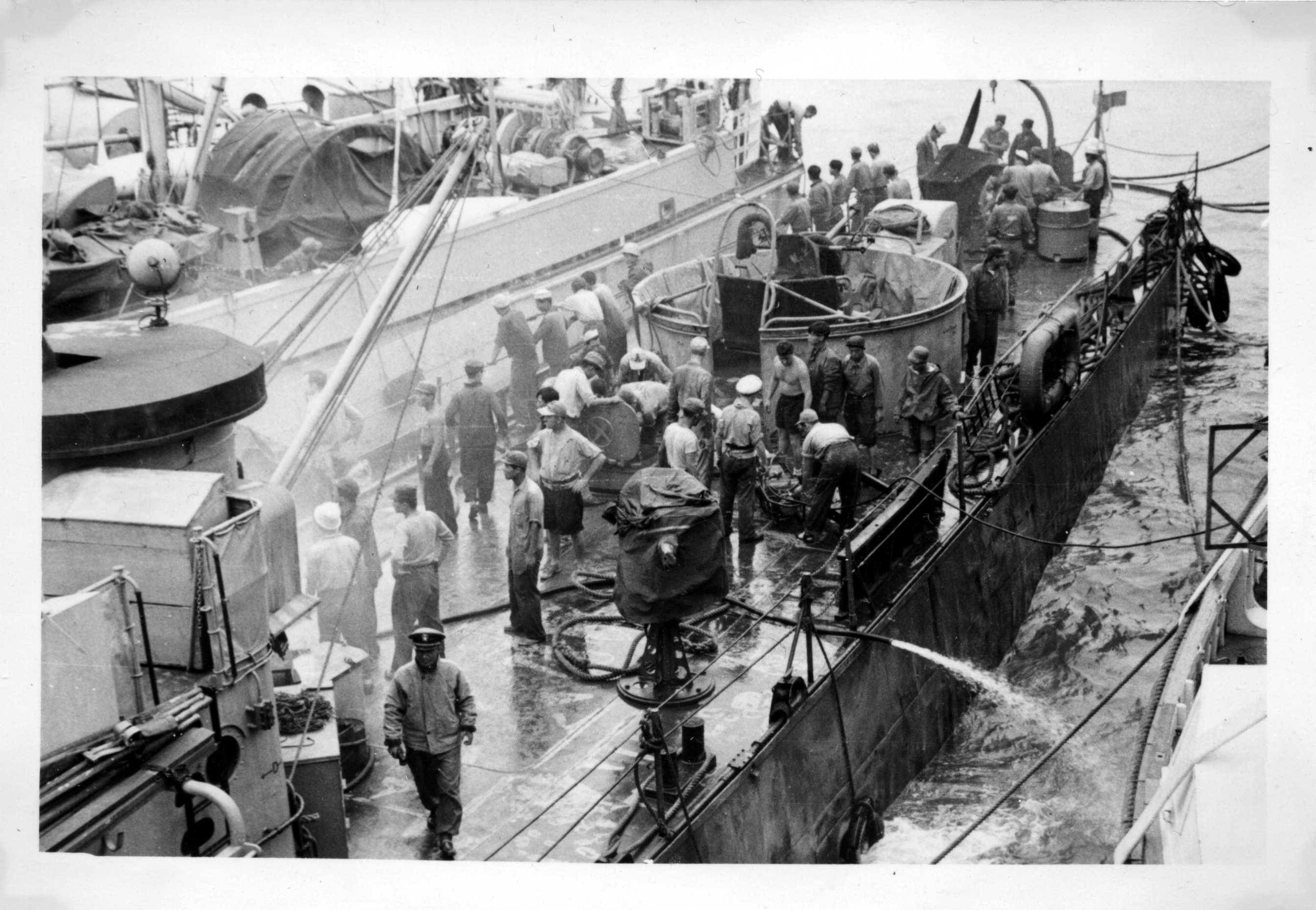 S. Korean navy, Korean War, Don Jatiouk.