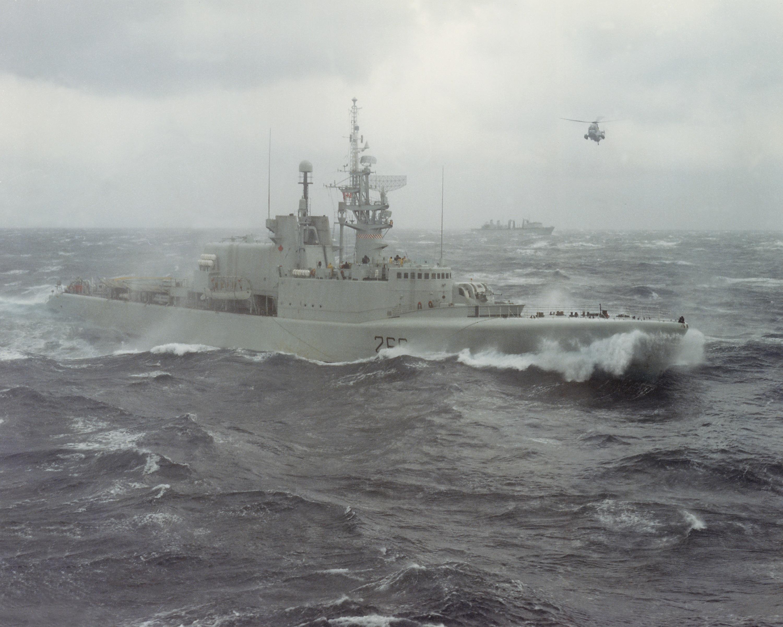 The Cold War at sea