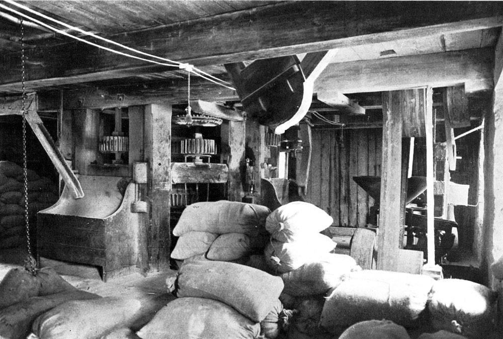 Le moulin banal des Aubert de Gaspé à Saint-Jean-Port-Joli