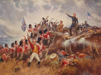 The Battle of New Orleans, by Moran