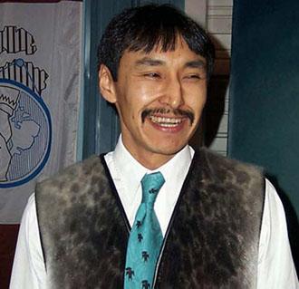 Paul Okalik, premier ministre du Nunavut de 1999-2008
