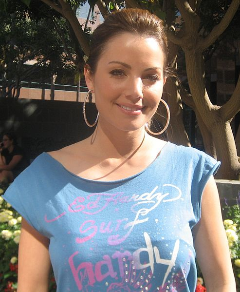 Erica Durance, 2008.