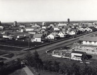 Grande Prairie, Alta, in 1928