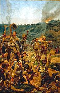 La bataille de Paardeberg