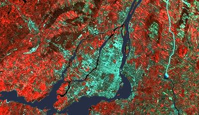 Montréal (image-satellite)