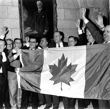 Le drapeau : Typiquement nôtre