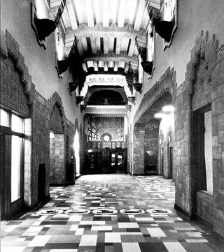 Marine Building, Interior