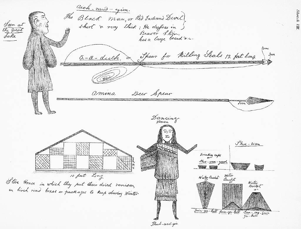 Beothuk Drawings