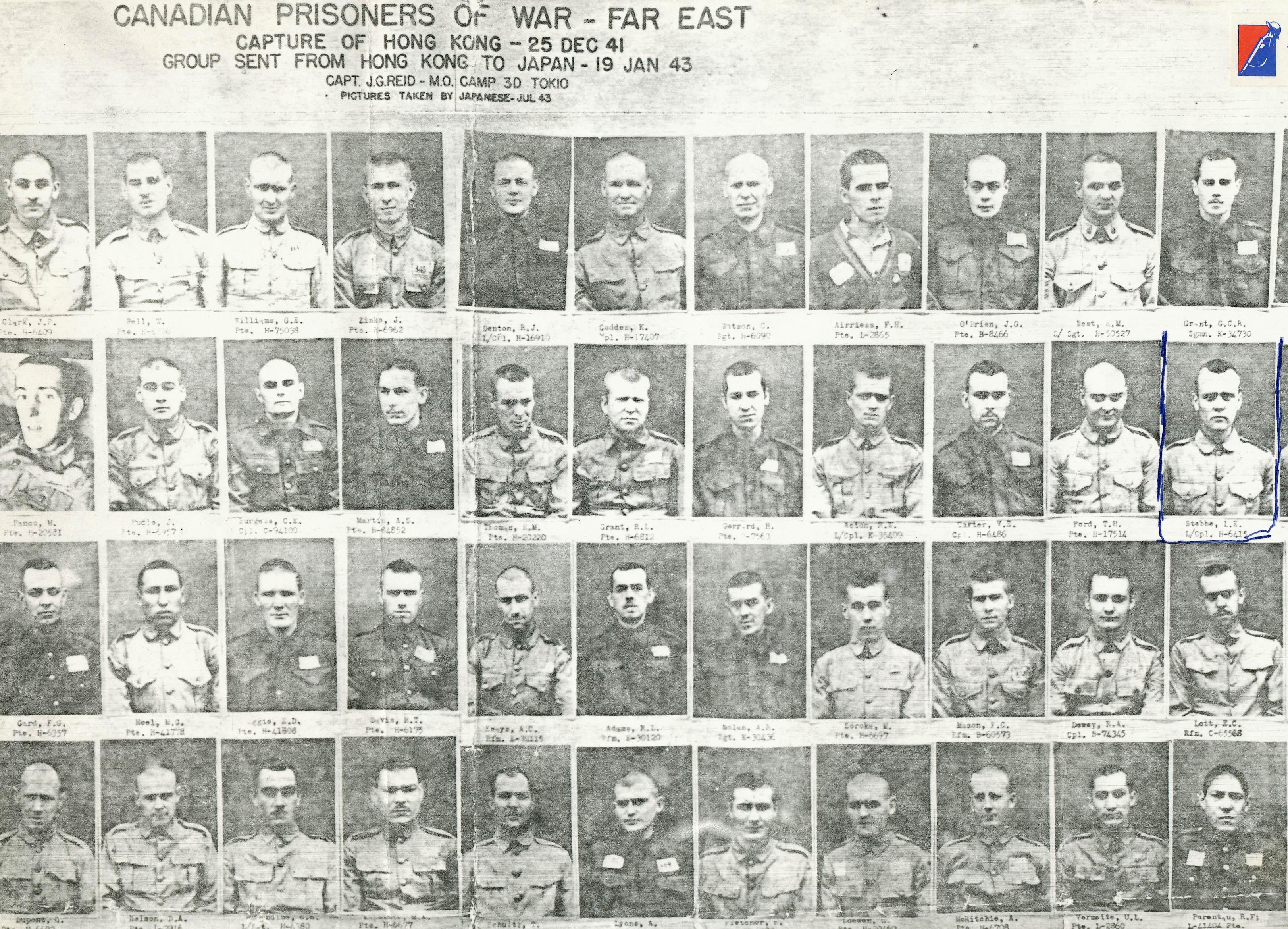 Canadian Prisoners of War