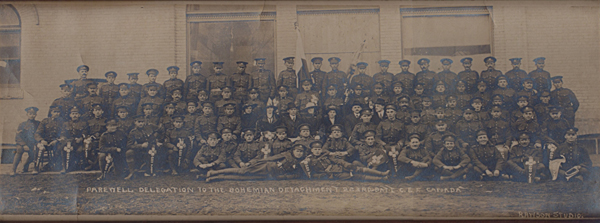 The 223rd Battalion of the Canadian Expeditionary Force.