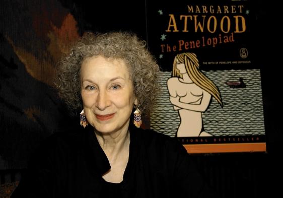 Margaret Atwood, writer