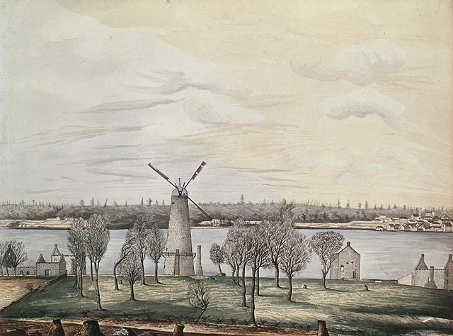 Site of the Battle of the Windmill, Prescott.