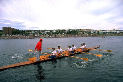 Rowing at Quidi Vidi Lake
