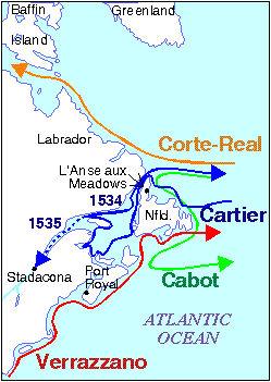 Explorations, Atlantic Coast