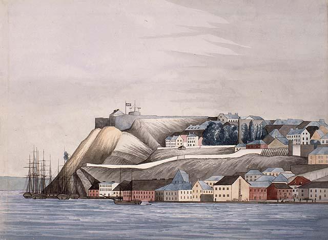 Vue de la Ville de Québec