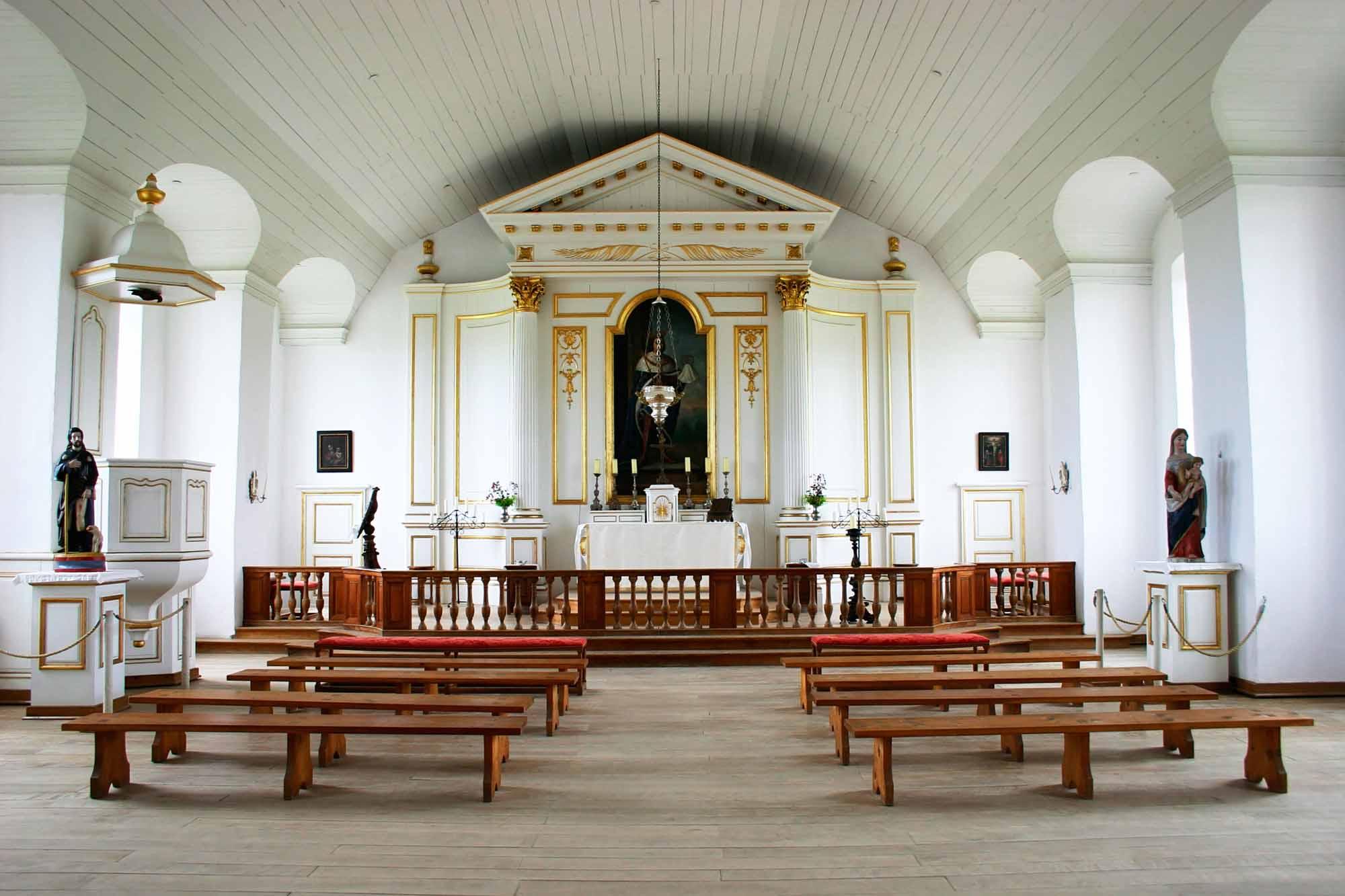 Louisbourg Chapel