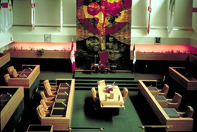 Yukon Legislature Chamber