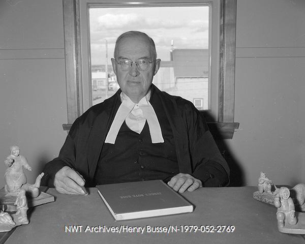 Judge John Howard Sissons