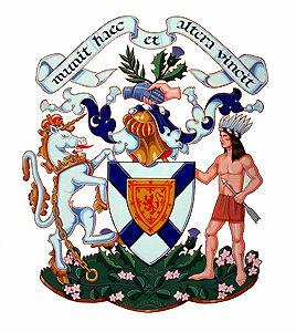Nouvelle-Écosse, armoiries de la