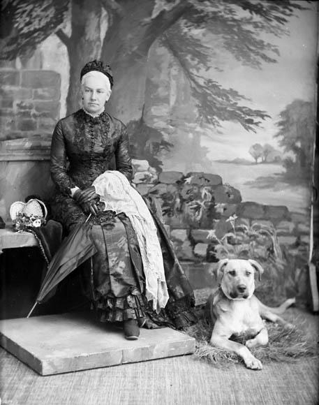 Lady Susan Agnes Macdonald, 1885.