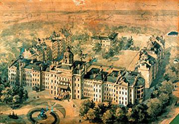 Toronto's Provincial Lunatic Asylum in 1850
