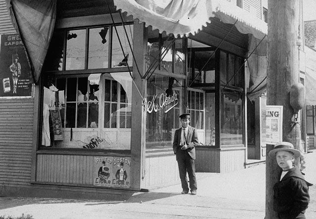 Japantown, Vancouver, 1907