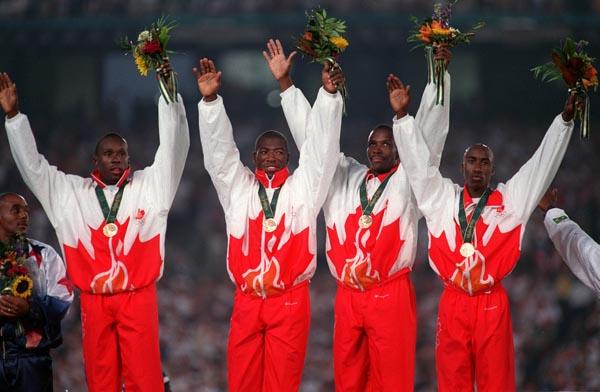 Men's Relay Team 1996