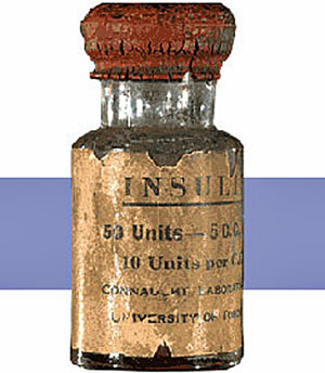 Vial of Insulin