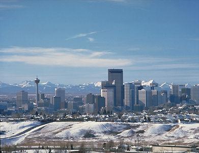 Calgary, vue du centre-ville