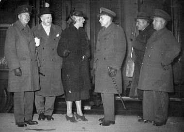 Les Vanier \u00e0 Paris, 1940