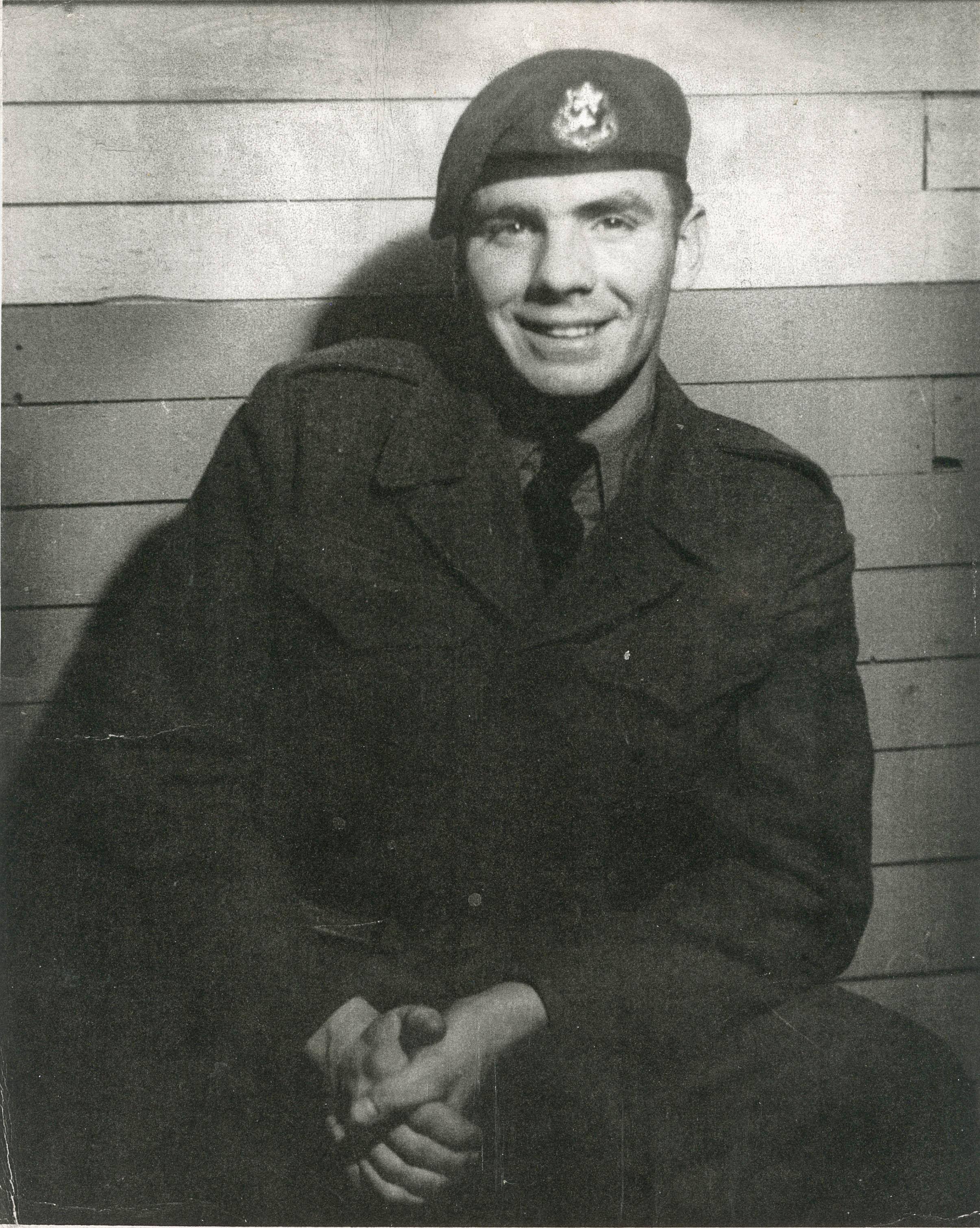 Allison Furlotte, Korean War veteran
